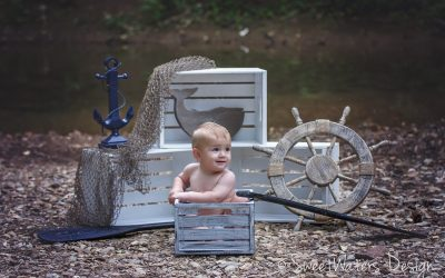 Finnegan is One-derful! | Child Photography